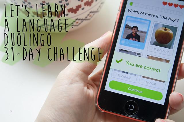 Duolingo 31-day challenge