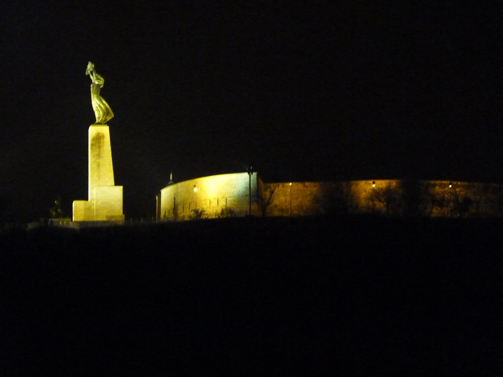 Zitadelle mit der Freiheitsstatue
