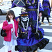 Olivia with Mummers