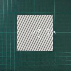วิธีทำหรีดห้อยหน้าประตูสำหรับวันคริสต์มาส (Christmas wreath origami and papercraft) 001