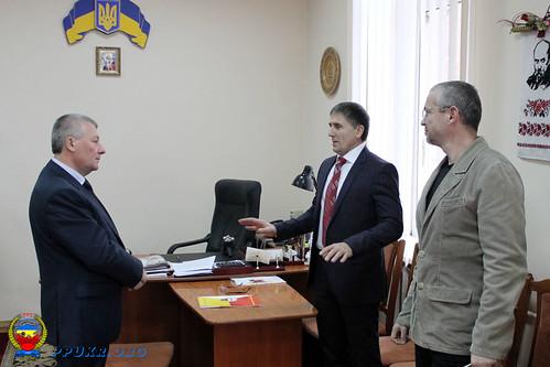 Встреча Председателя ППУ и Начальника главного управления пенсионного фонда Украины в Ивано-Франковской области (3)