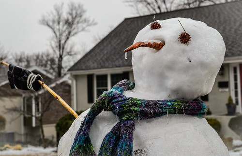 Snotty Snowman by Geoff Livingston
