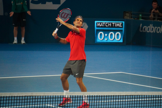 Brisbane International 2015 Men's Final: Roger Federer v Milos Raonic