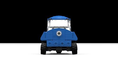 Lego Peel P50 front