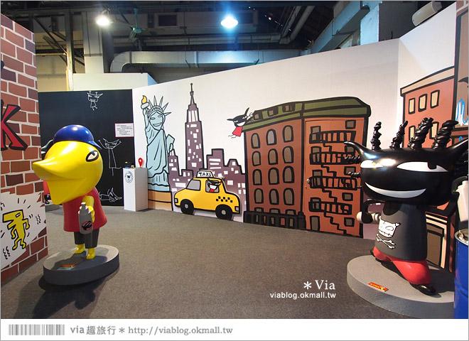 【阿朗基愛旅行】台北華山藝文特區阿朗基展~跟著阿朗基一起環遊世界去!28