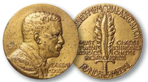 Roosevelt Memorial Association Founders Medal