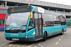 Arriva Kent Thameside . 4231 KX62JWF . Harlow Bus Station , Essex . Saturday 14th-March-2015 .