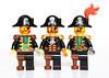 Lego Captain Brickbeard 1989-2009-2015