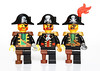 Lego Captain 1989-2009-2015