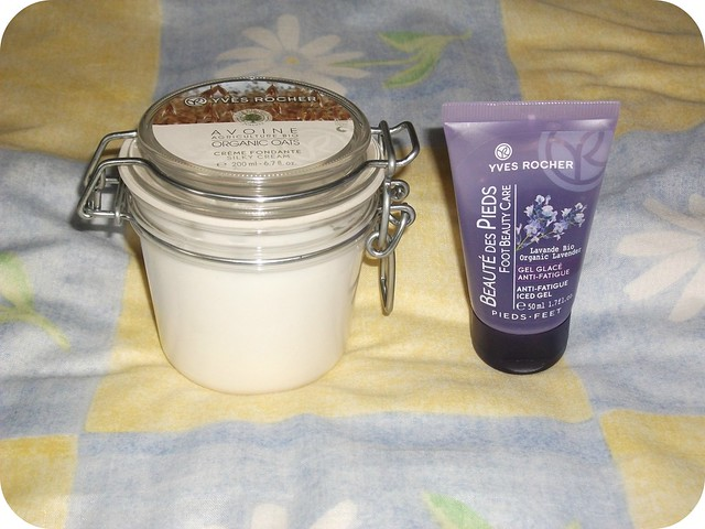 Yves Rocher Anti Fatigue Gel & Silky Body Cream