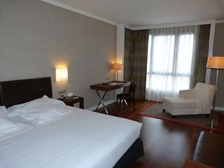 Habitación doble del Hotel Balneario Villa de Olmedo (Valladolid)