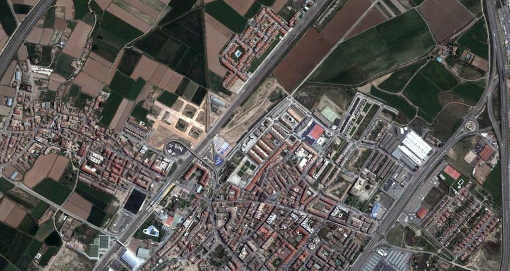 utebo, zaragoza, tuyouubo, después, urbanismo, planeamiento, urbano, desastre, urbanístico, construcción, rotondas, carretera