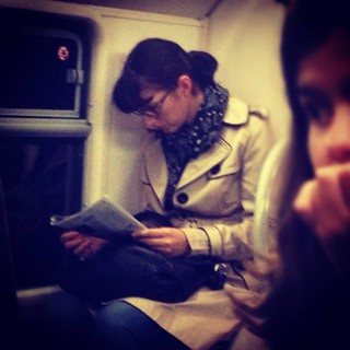 Reading passenger 116 © Eric Imbault