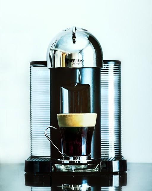 nespresso machine vertuo line!