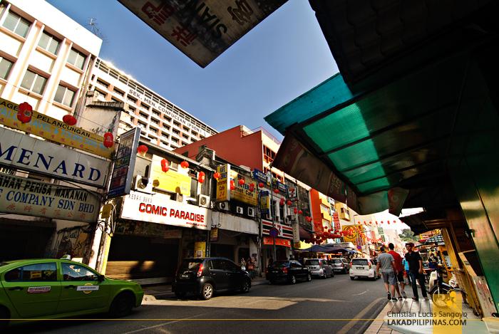 China Town in Kuala Lumpur, Malaysia