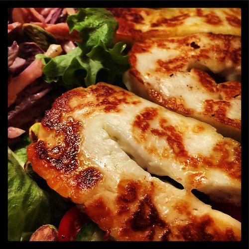 Grilled Halloumi Salad #photo365 #fb