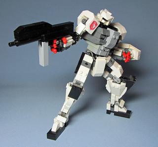 Rz-04 Astraea II - Action Pose