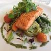 #Fantastic #Ora #KingSalmon at #FurneauxLodge #Restaurant, #Endeavour Inlet, #Marlborough Sounds, #NZ.