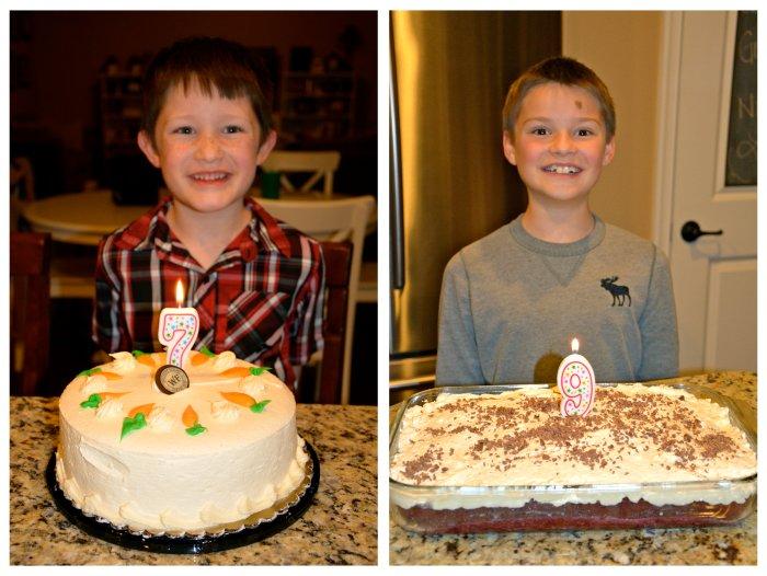 boys' cakes