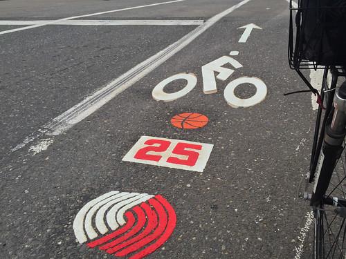 Kersey bike lane