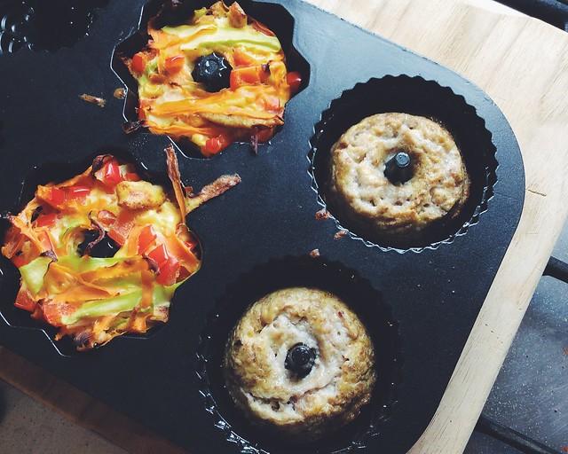 Desayuno paleo - tartaletas dulces y saladas