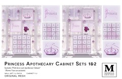 Magnolia Princess Apothecary Cabinets