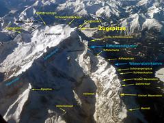 Zugspitze-Luftbild