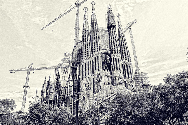 La Sagrada Familia, Barcalona