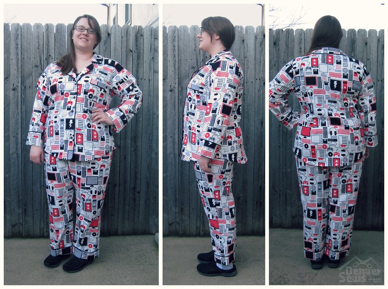 Closet Case Carolyn Pajamas - Collage