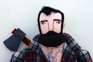 Lumberjack #4 face