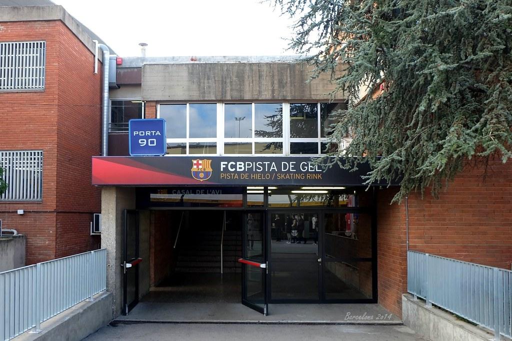 Barcelona day_4, Skating Rink, Camp Nou, Avinguda de Joan XXIII