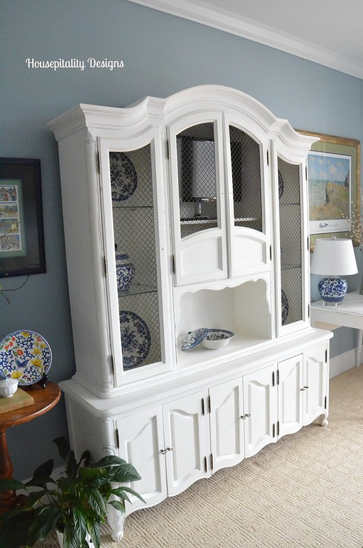 Guest Room Vintage Hutch-Housepitality Designs