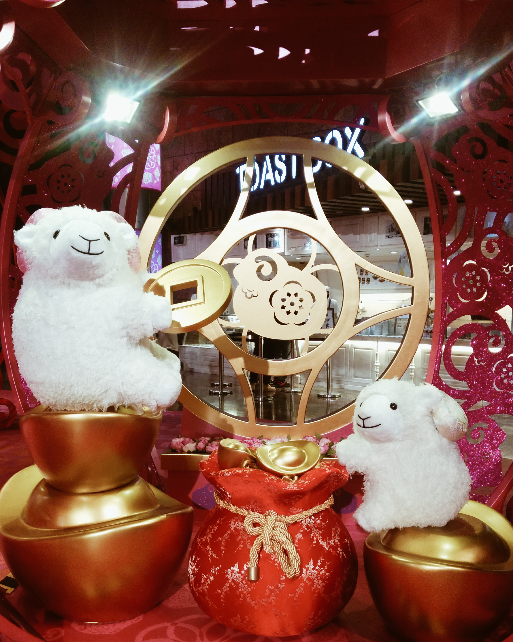 Daisybutter - Hong Kong Lifestyle and Fashion Blog: Year of the Sheep, Langham Place Hong Kong