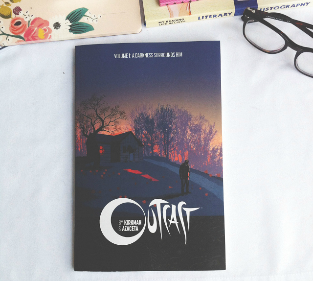 outcast robert kirkman graphic novel book reviews blog book lifestyle blog vivatramp bee uk book haul