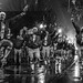 Dancen in the Rain. Lundi Gras with the 610 Stompers, Mardi Gras 2015. by Tha Faatha