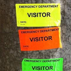 Emergency visitors