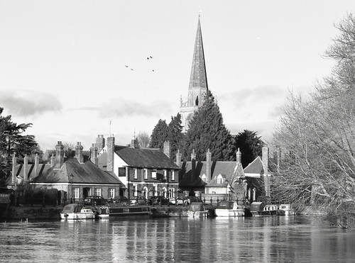 View from Wilsham Road, Abingdon