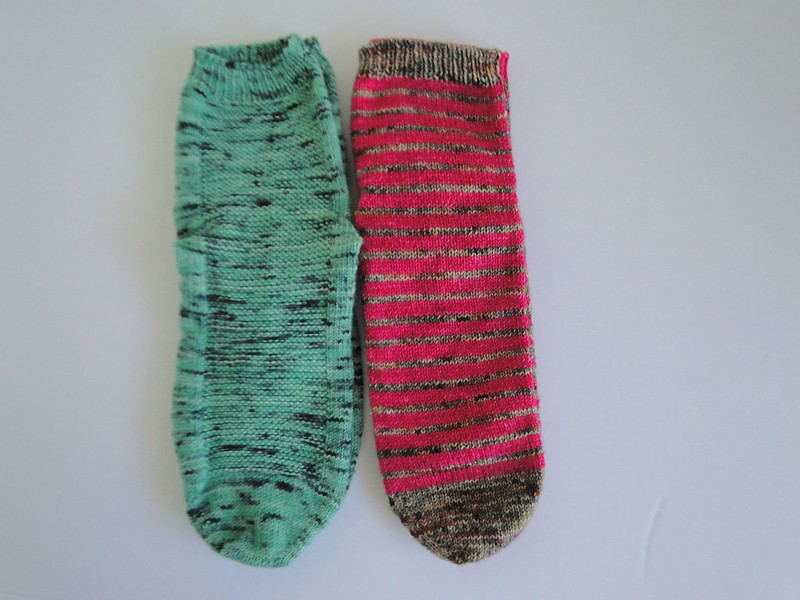 January & February socks