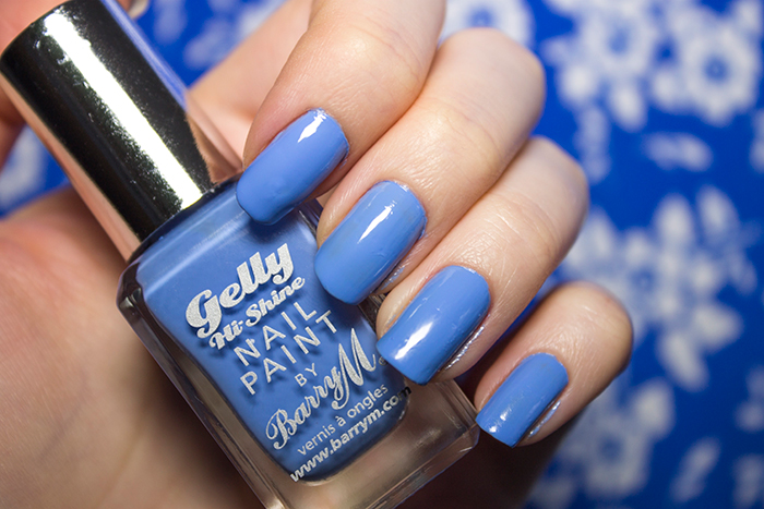 Barry M Hi-Shine Gelly Nail Paint in Blueberry