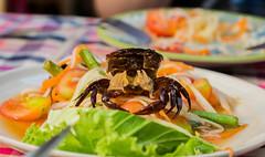 Crab & Papaya salad in Bangkok (25/365)