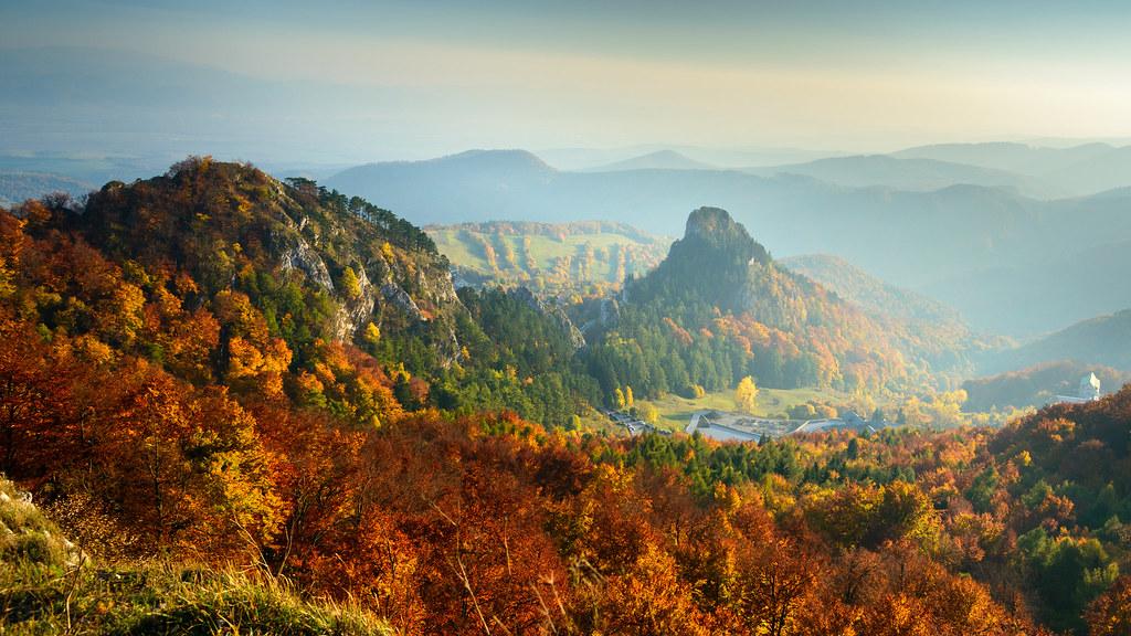 Vršatské bradlá, Trenčiansky kraj, Slovakia