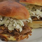 Mmm... pulled pork with slaw