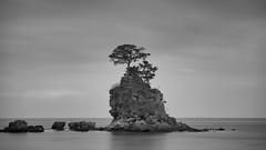 雨晴海岸と女岩
