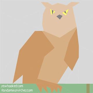 2015 PoD Update Block 11 - Eagle Owl (variation)
