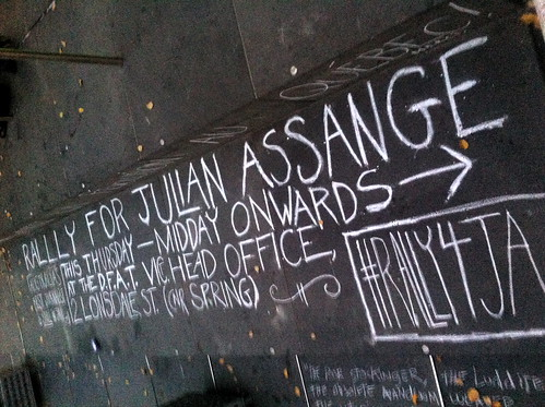 OO Tuesday #3: Rally 4 Assange