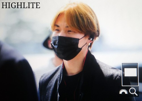 Big Bang - Incheon Airport - 29may2015 - Dae Sung - High Lite - 04