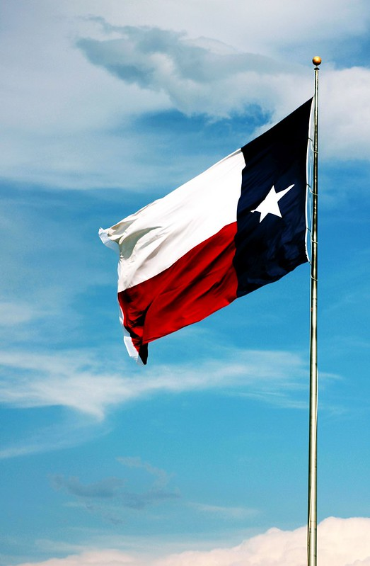 We Texans Honor Our Flag