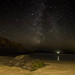 Broad Haven Rock and the Milky WAY - [ Explored ] Thanks all !! by still.driftingpembrokeshire