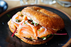 20161020-07-Smoked salmon bagel at Room for a Pony…