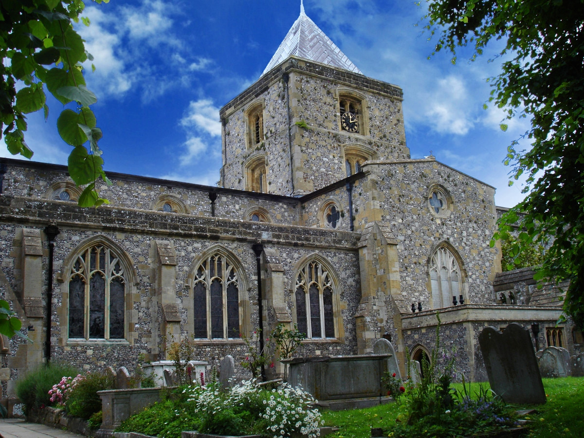 St Nicholas Church, Arundel. Credit JohnArmagh